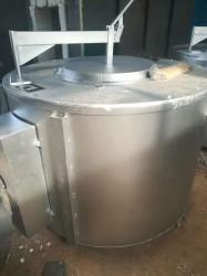 井式坩埚化铝炉